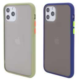 TPU+PC чехол Color Buttons для Apple iPhone 11 Pro Max