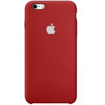 Чехол Silicone Case для iPhone 6s Dark Red