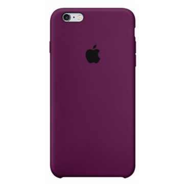 Чехол Silicone Case для iPhone 6s Marsala