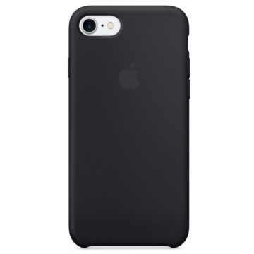 Чехол Silicone Case для iPhone 7/8 Black