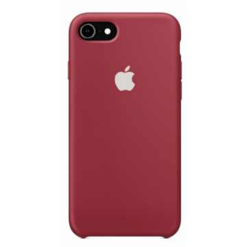 Чехол Silicone Case для iPhone 7/8 Dark Red