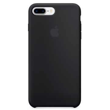 Чехол Silicone Case для iPhone 7 Plus Black