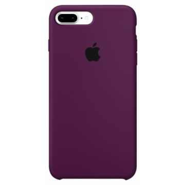 Чехол Silicone Case для iPhone 7 Plus Marsala