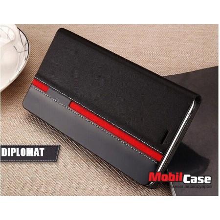 Чехол (книжка) для Lenovo Vibe K5 / K5 Plus Diplomat
