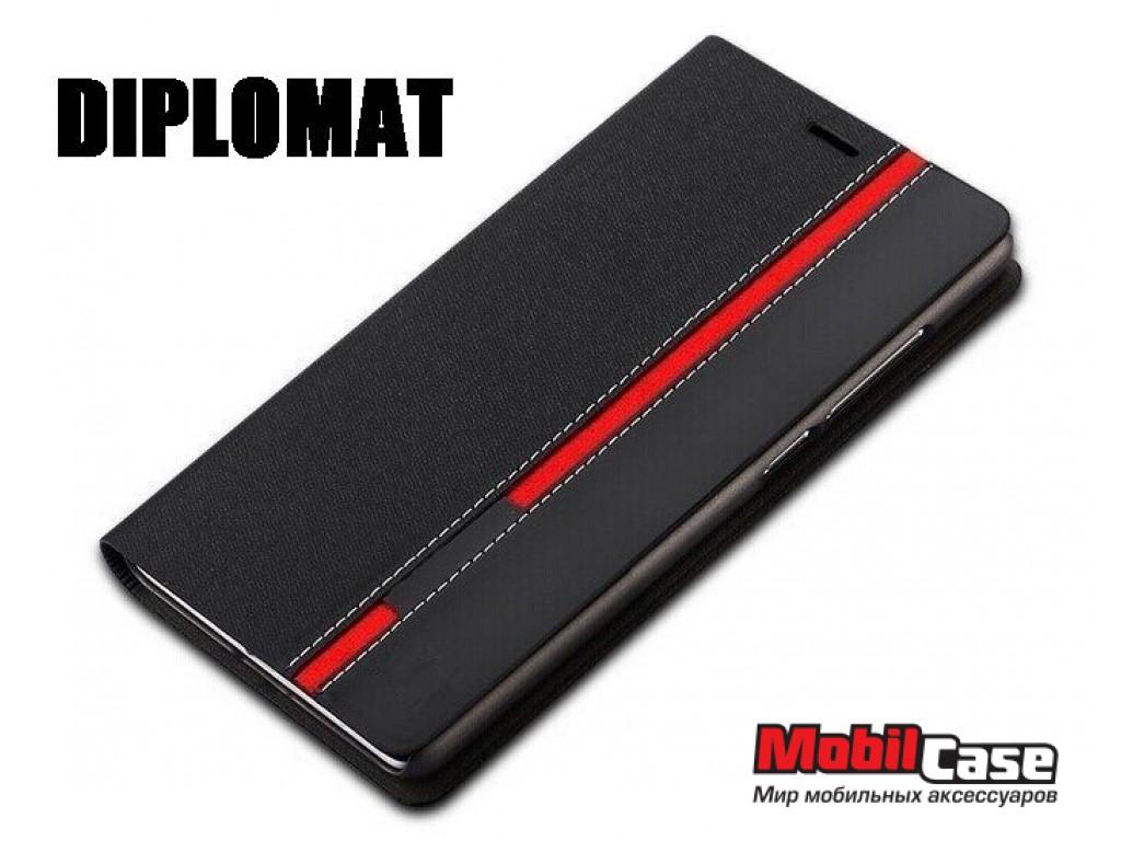 Чехол (книжка) для LG G3s D724 Diplomat