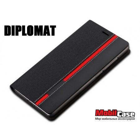 Чехол (книжка) для Microsoft Lumia 640 Diplomat