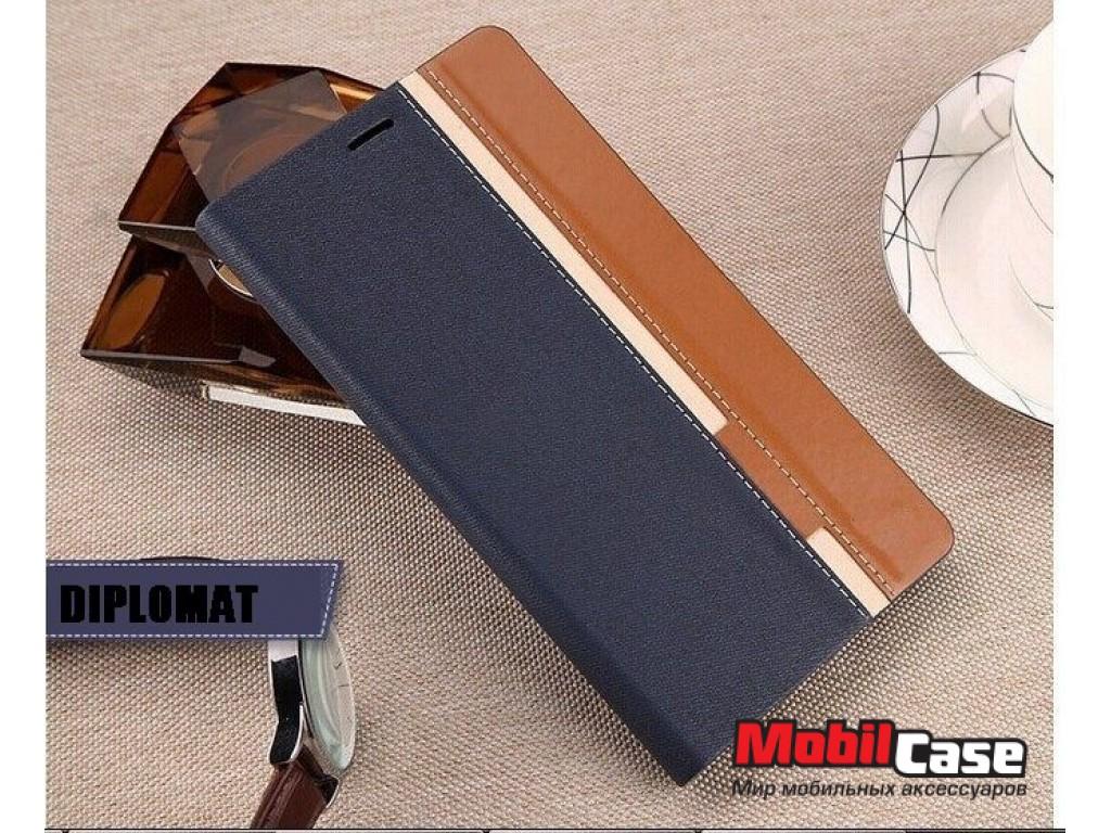 Чехол-книжка для Doogee X6/X6 Pro Diplomat