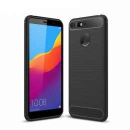 Бампер для Huawei Honor 7A Pro Carbon