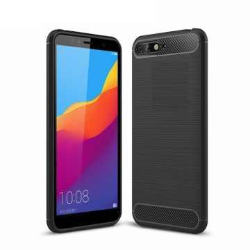 Бампер для Huawei Y6 2018 Carbon