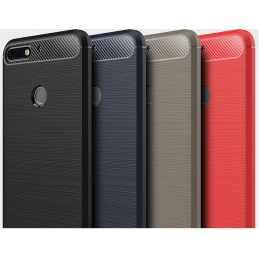 Накладка для Huawei Honor 7C Carbon