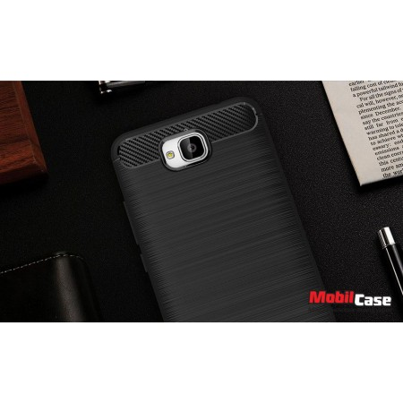 Накладка для Huawei Y6 Pro Carbon