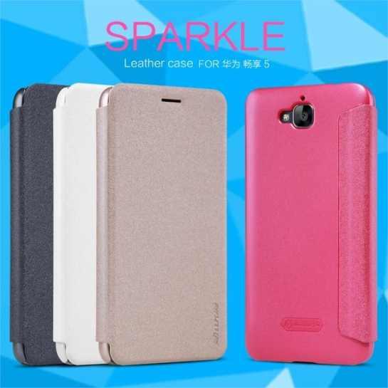 Чехол (книжка) для Huawei Y6 Pro Nillkin Sparkle