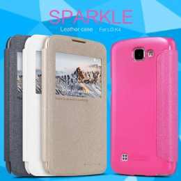 Чехол-книжка для LG K4 K130E Nillkin Sparkle