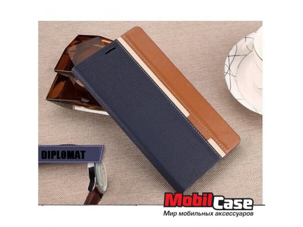 Чехол (книжка) для Lenovo A7010 (X3 Lite) Diplomat