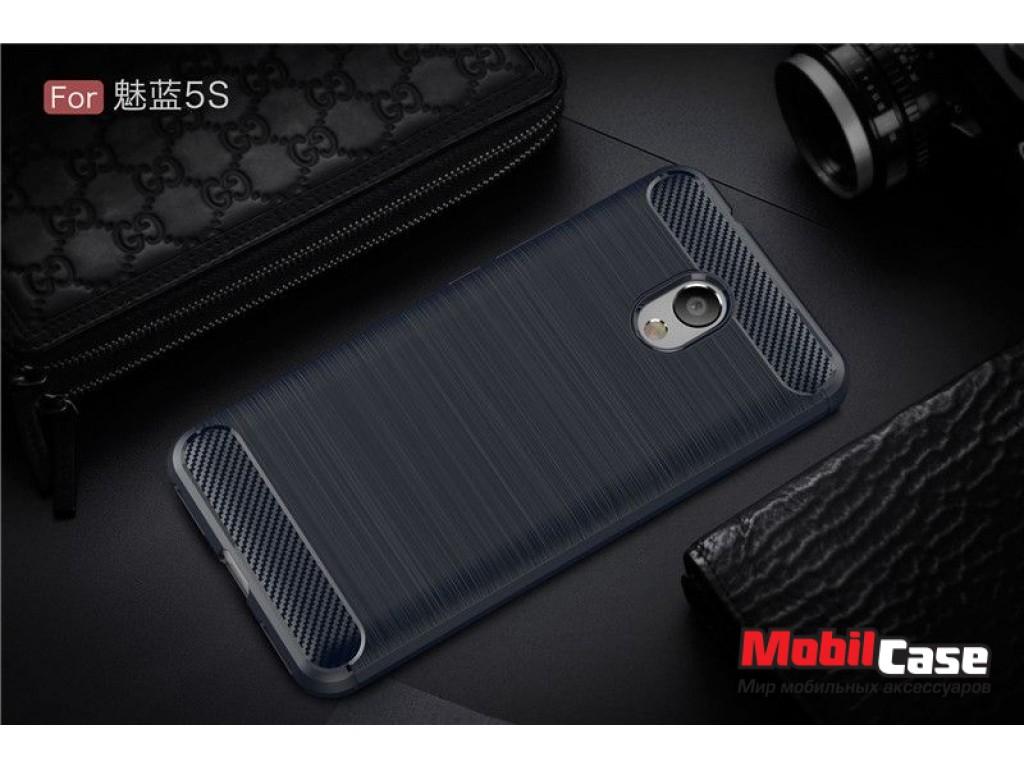 Бампер для Meizu M5 Mini/M5s Carbon