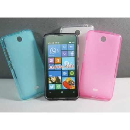 Силиконовый чехол для Microsoft Lumia 430