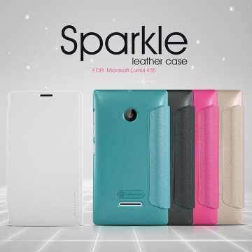 Чехол (книжка) для Microsoft Lumia 435 Nillkin Sparkle