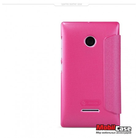 Чехол (книжка) для Microsoft Lumia 532 Nillkin Sparkle