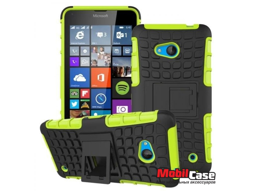 Бампер для Microsoft Lumia 640 ARMOR (УЦЕНКА)