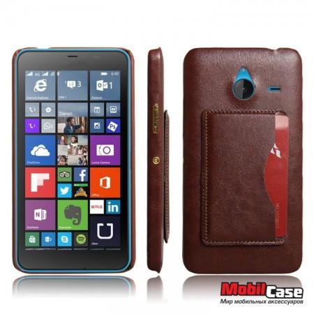 Кожаная накладка для Microsoft Lumia 640 XL Vintage