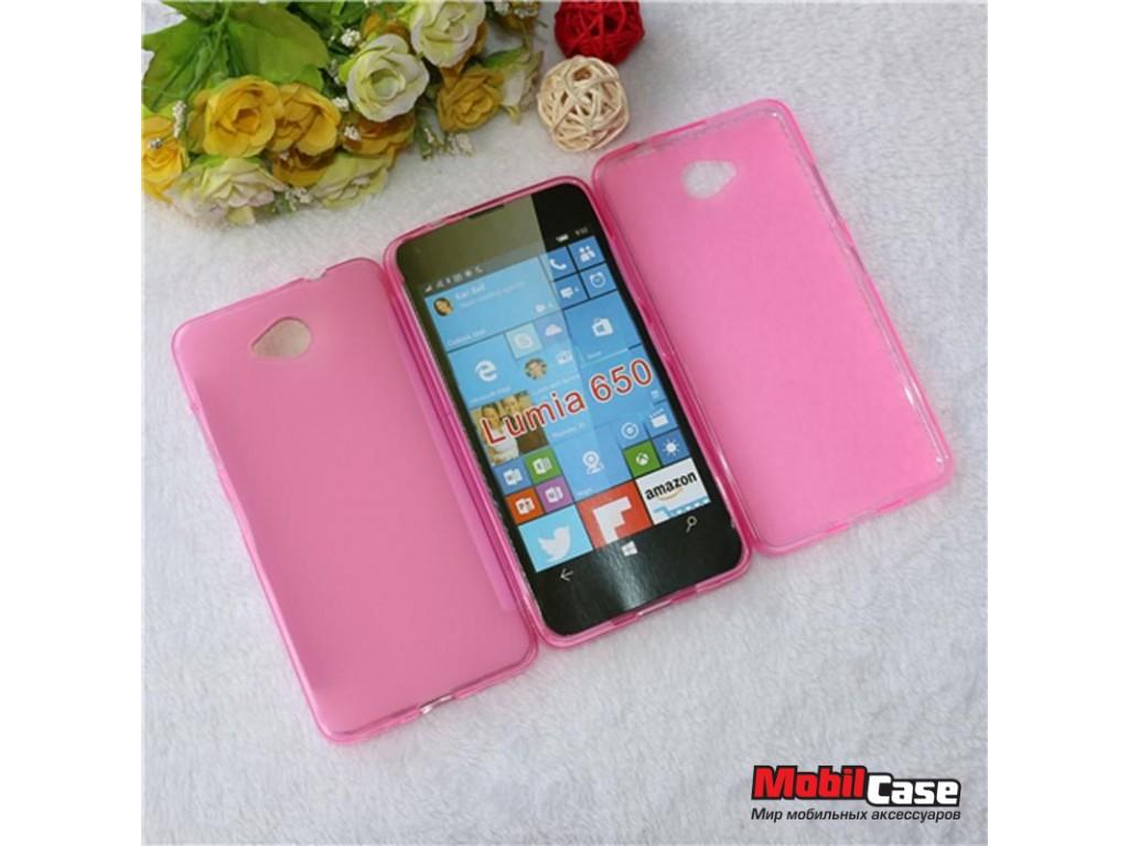 Силиконовый чехол для Microsoft Lumia 650