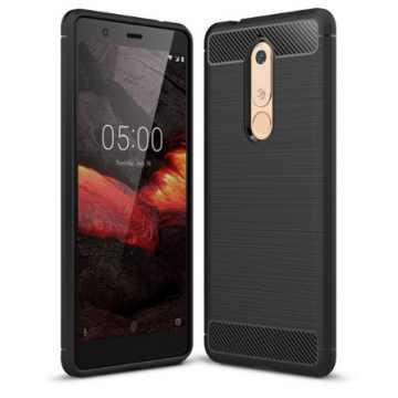 Бампер для Nokia 5.1 2018 Dual SIM Carbon