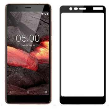 3D Стекло Nokia 5.1 2018 Dual SIM с рамкой
