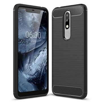Бампер для Nokia 5.1 Plus Carbon