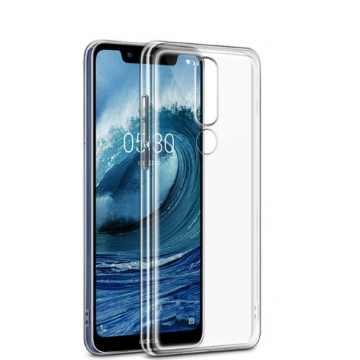 Силиконовый чехол для Nokia 5.1 Plus Slim