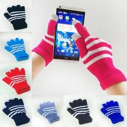 """Емкостные перчатки """"полоска"""""""