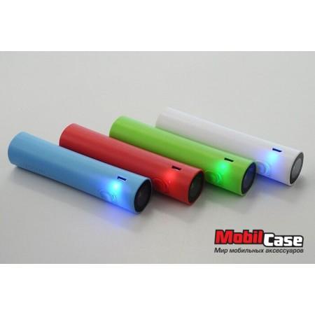 Внешний аккумулятор 2600 mAh LED