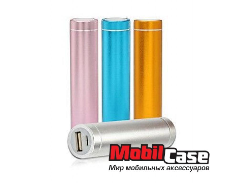 Внешний аккумулятор 2600 mAh Metall