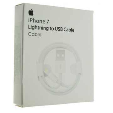 Кабель Apple Lightning MD818FE/A 1m iPhone 7