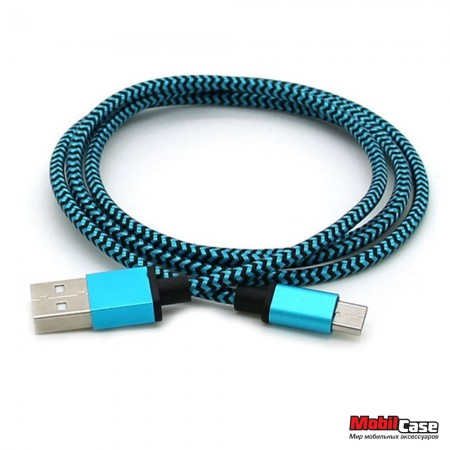 Дата кабель Micro USB Metall