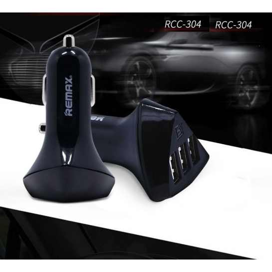 Авто зарядное Remax 4.2A 3USB RCC304
