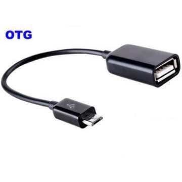 Адаптер OTG microUSB/USB Slim