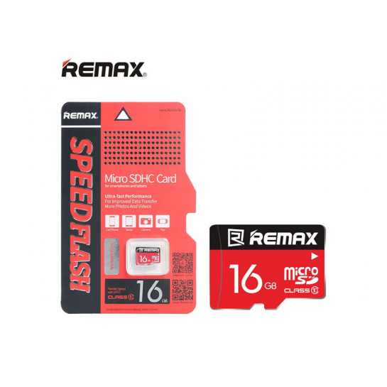 Карта памяти microSDHC 16 GB Class 10 Remax