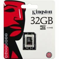 Карта памяти microSDHC 32 GB Class 10 Kingston
