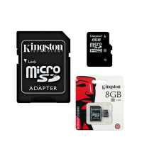 Карта памяти microSDHC 8 GB Class 10 Kingston