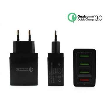 Сетевое зарядное устройство QC-04 4USB 6.2A