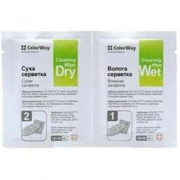 Чистящие салфетки Colorway для LED/LCD/ TFT CW-1334