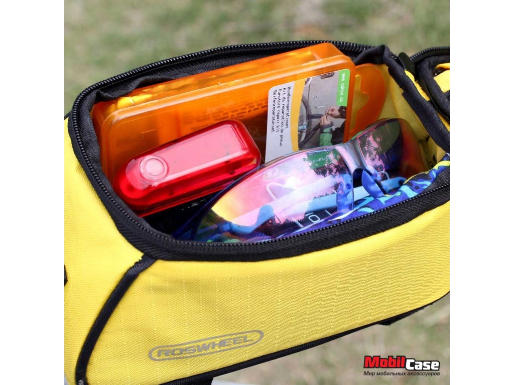 Велосипедная сумка для смартфона ROSWHEEL