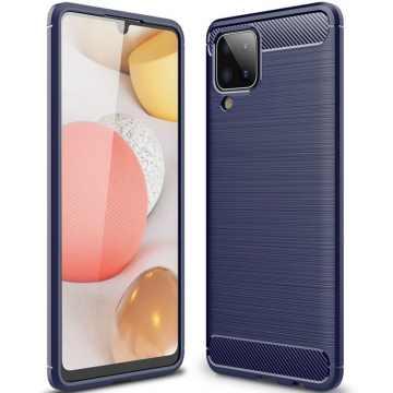 Бампер для Samsung Galaxy A12 (A125) Carbon
