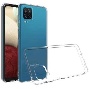 Силиконовый чехол для Samsung Galaxy A12 (A125) Slim