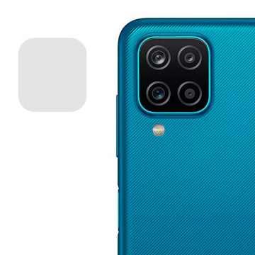 Стекло на камеру гибкое Samsung Galaxy A12 (A125) (Черное)