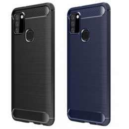 Бампер для Samsung Galaxy A21s 2020 (A217) Carbon