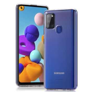 Силиконовый чехол для Samsung Galaxy A21s 2020 (A217) Slim