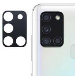 Стекло для камеры гибкое Samsung Galaxy A21s 2020 (A217) (Черное)