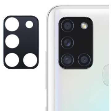 Стекло на камеру гибкое Samsung Galaxy A21s 2020 (A217) (Черное)