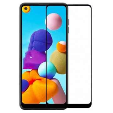 3D Стекло Samsung Galaxy A21s 2020 (A217) с рамкой